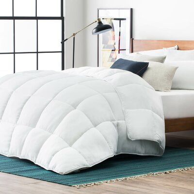 All Season Down Alternative Comforter Size: Oversized Queen