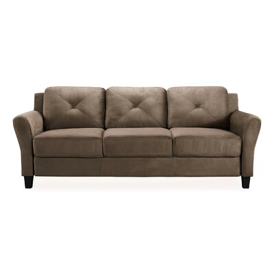 Ibiza Sofa Color: Light Brown