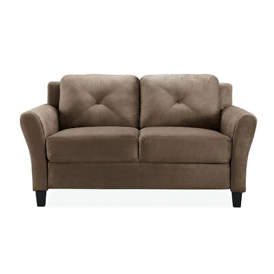 Ibiza Loveseat Color: Brown