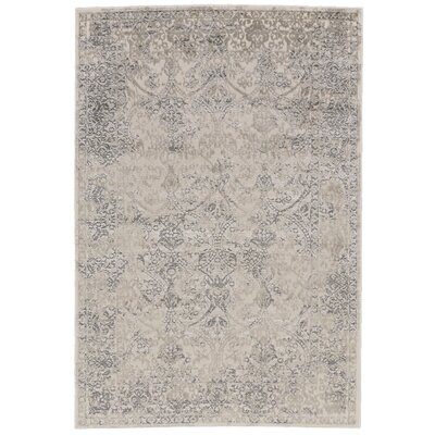 Pavonis Gray Area Rug Rug Size: Rectangle 8 x 11