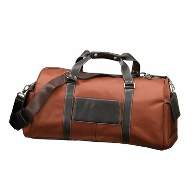 "22"" The Italian Carry-on Duffel Color: Rust"