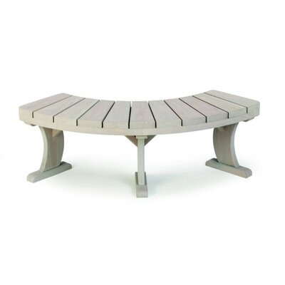 Furniture > Outdoor Furniture > Teak Bench > Outdoor Curved Teak Bench