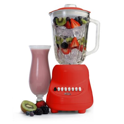 Elite by Maxi-Matic Americana by 10-Speed Blender with 48 oz. Glass Jar - Color: Red at Sears.com