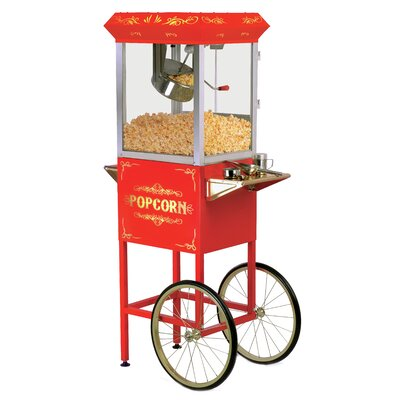 Elite by Maxi-Matic 8 oz. Deluxe Kettle Old Fashioned Popcorn Trolley - Color: Red at Sears.com