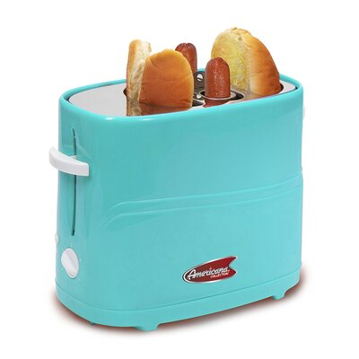 Cuisine Hot Dog Toaster Color: Blue ECT-304BL