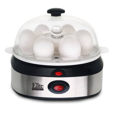 Platinum Stainless Steel Automatic Egg Cooker EGC-207