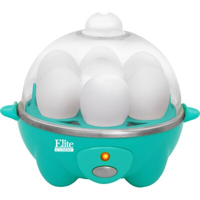 Cuisine Automatic Easy Egg Cooker Color: Teal EGC-007T