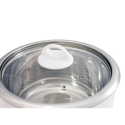 Elite - Gourmet 20-Cup Rice Cooker - White ERC-2020
