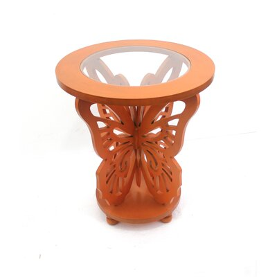 Butterfly End Table