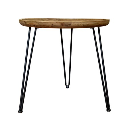 Wooden End Table Color: Black