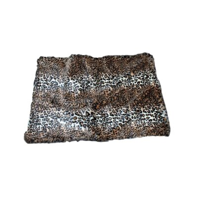 Luxury No Fleece Jaguar Pet Bed