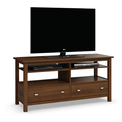 Carabus TV Stand With Two Drawers and Two Adjustable Shelves Finish: Burnt Sugar