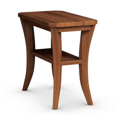 Cosmo Chairside Table Color: Burnt Sugar