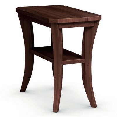 Cosmo Chairside Table Color: Brandywine