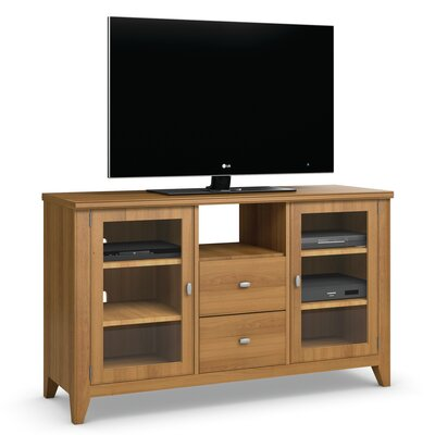 Bowery 58 TV Stand Color: Praline