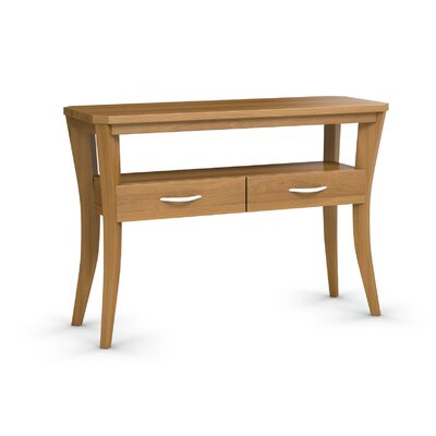 Cosmo Sofa Console With One Drawer Finish: Praline