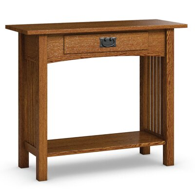 Mission Hills Sofa Table With Drawer Finish: Mission