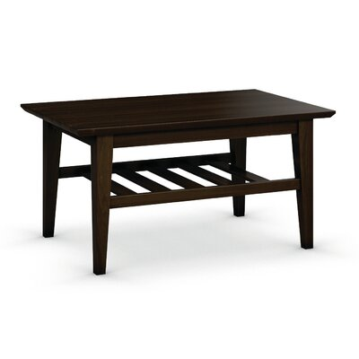 Arbor Coffee Table Size: 19 H x 38 W x 24 D, Color: Coffee