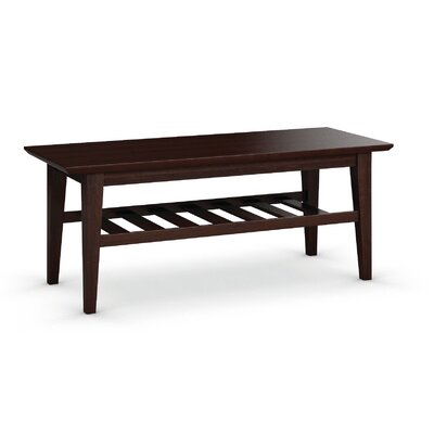 Arbor Coffee Table Size: 19 H x 48 W x 19 D, Color: Brandywine