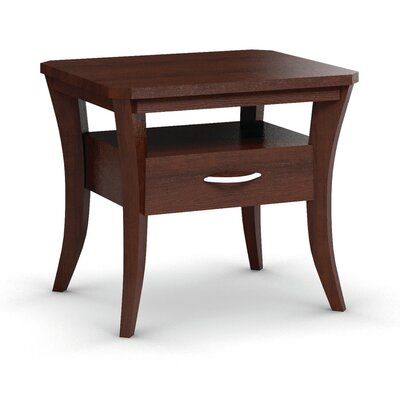 Cosmo End Table With Drawer Finish: Brandywine