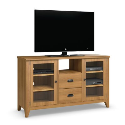 Downtown 58 TV Stand Color: Praline