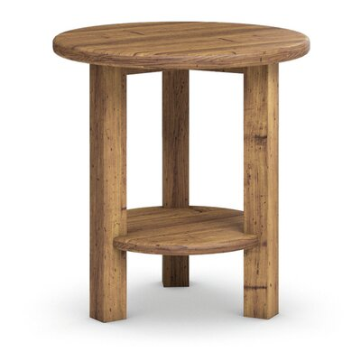 Redonda Round Accent Table Finish: Honey Wheat