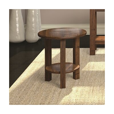 Redonda Round Accent Table Color: Hazelnut