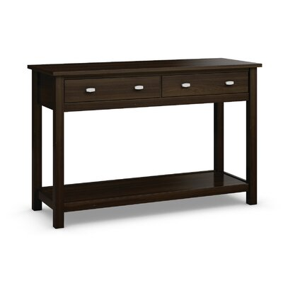 Carabus Console Table Finish: Coffee