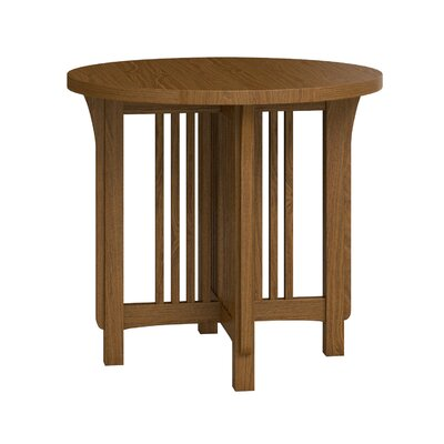 FLW Round Lamp Table Finish: Mission
