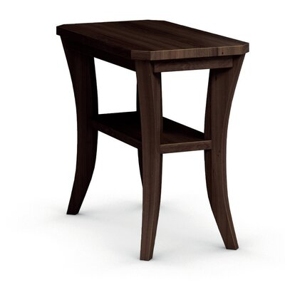 Cosmo Chairside Table Finish: Coffee