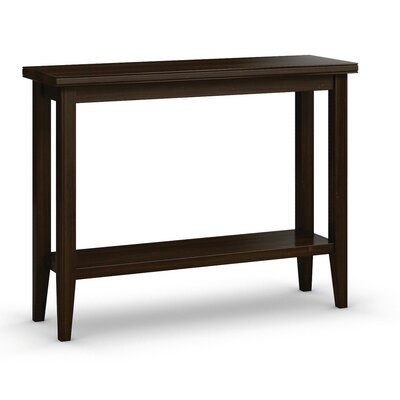 Bowery Sofa Table with Shelf Finish: Coffee, Size: 30 H x 38 W x 12 D