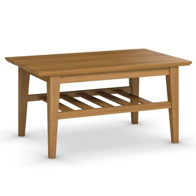 Arbor Coffee Table Finish: Praline, Size: 19 H x 38 W x 24 D