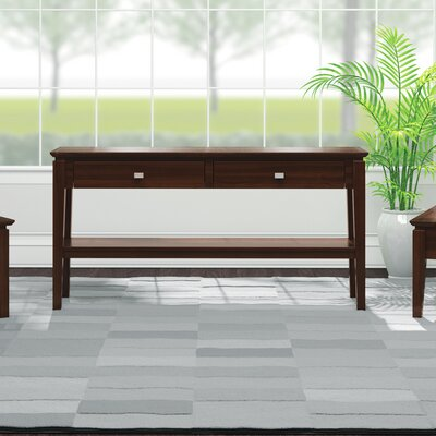 Windward Console Table Finish: Brandywine