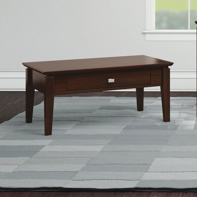 Windward Condo Coffee Table Color: Brandywine
