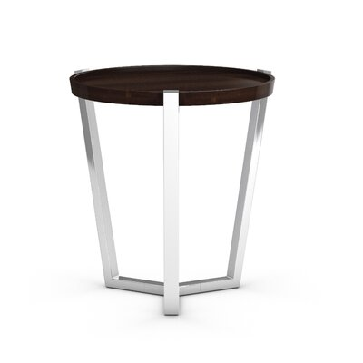 Cirque End Table Color: Coffee