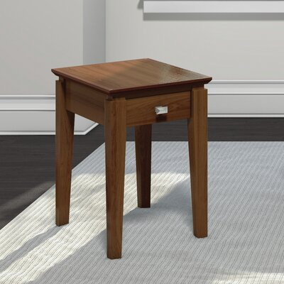Windward Chairside Table Finish: Burnt Sugar