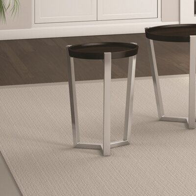 Cirque Chairside Table Finish: Coffee