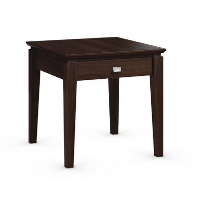 Windward End Table with Power Station Finish: Coffee
