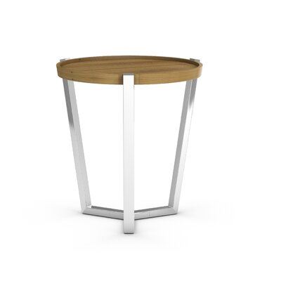 Cirque End Table Color: Praline