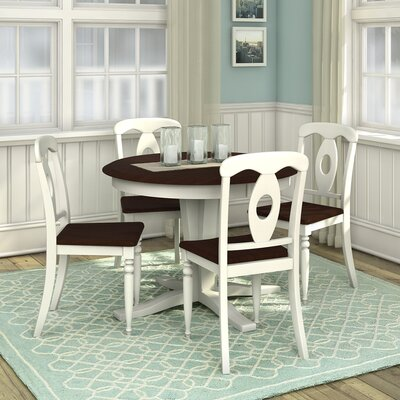 Creekside 5 Piece Dining Set Finish Mocha Cherry