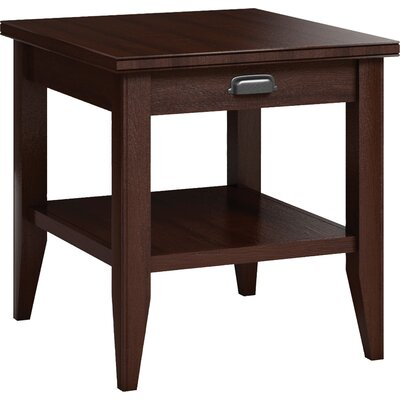 Downtown End Table with Drawer Color: Brandywine
