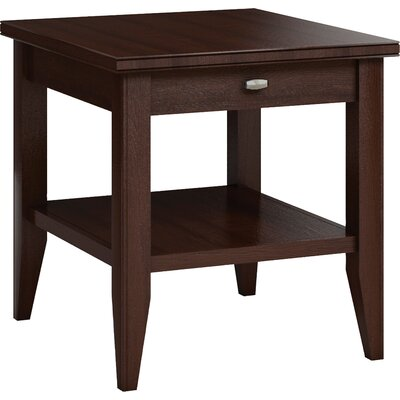 Bowery End Table with Drawer Color: Brandywine