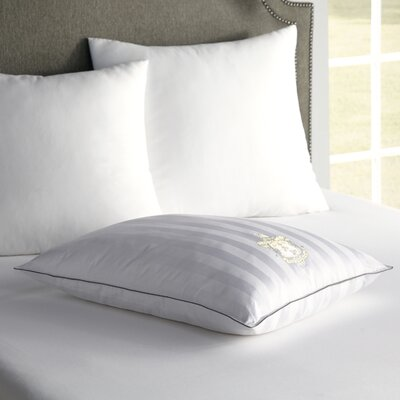 1000 Thread Count Luxury Sleep Polyfill Pillow Size: King