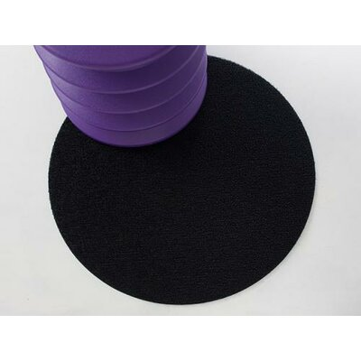 Shag Dot Doormat Color: Black
