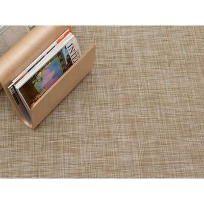White/Gold Area Rug Rug Size: 310 x 6