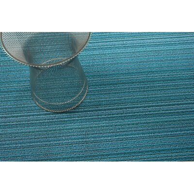 Skinny Stripe Shag Doormat Rug Size: 2 x 3