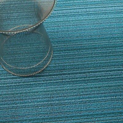 Skinny Stripe Shag Doormat Rug Size: Runner 2 x 6