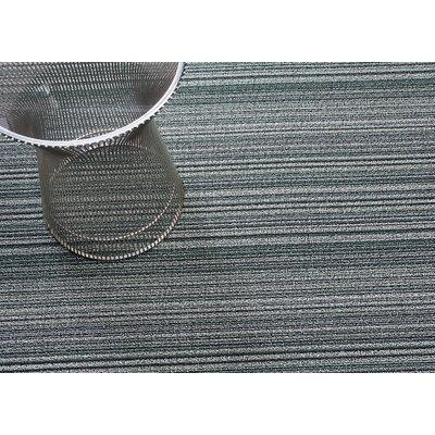 Skinny Stripe Spearmint Doormats Rug Size: 3 x 5