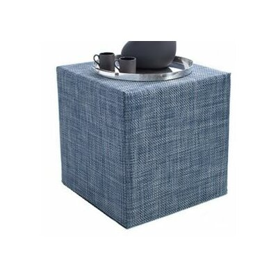 Denim Cube Ottoman