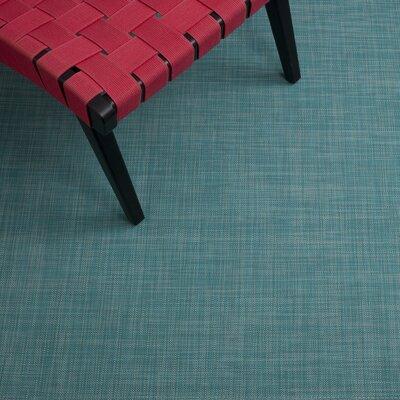 Turquoise Area Rug Rug Size: 3'10